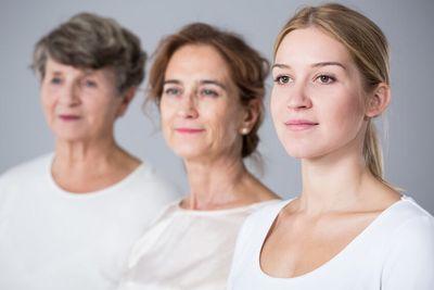 Symptome hoch frau östrogen zu Progesteronmangel &